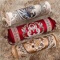 Декоративная задняя подушка  роскошные подушки  европейский стиль  домашняя подушка  наволочка  подушка под голову в машине  декоративная п...