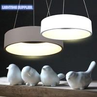 Современные круглый светодиодный свет подвеска для Обеденная Кухня Ресторан подвесной потолочный светильник Новинка