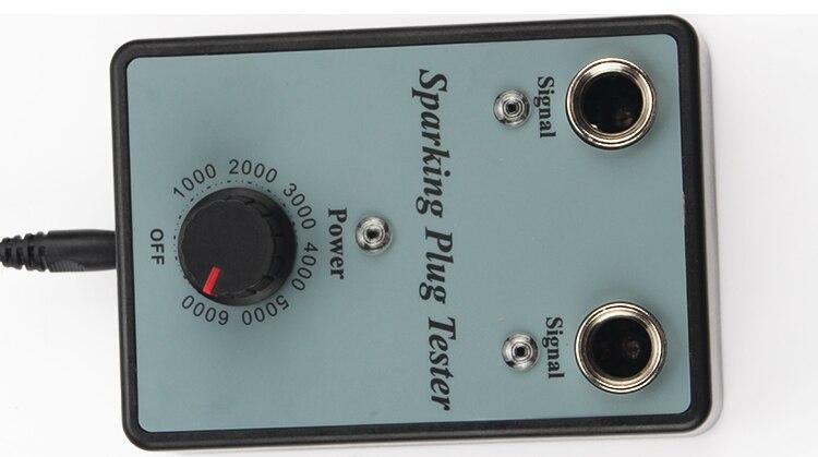 Dual Hole Car Spark Plug Tester Ignition Plug Analyzer Diagnostic Tool Automotive Spark Plug Detector