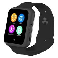"Micro Sim-karte Smartwatch 1,22 ""Touchscreen Bluetooth 3,0 Schwerkraft-sensor Pulsmesser UV-Test Schrittzähler Smart Uhr Telefon"