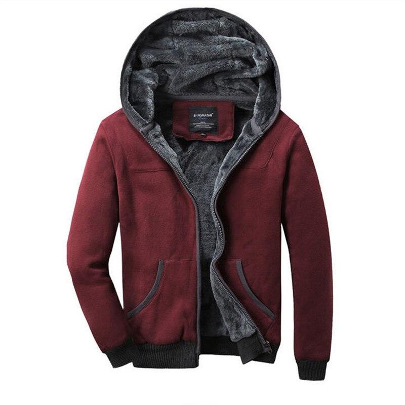 2019 Höst Vinterrockar och Jackor Herrtröjor Plus Size Cardigan - Herrkläder - Foto 4