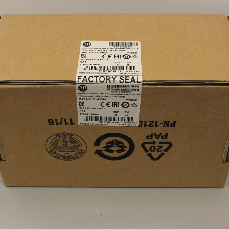 1766 L32BWA 1766L32BWA PLC Controller New Have in stock