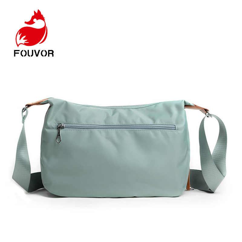 890279838747 Fouvor Waterproof Nylon Women Messenger Bags Casual Clutch Carteira Vintage  Hobos Ladies Handbag Female Crossbody Shoulder Bags