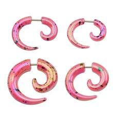 Colorful Ear Piercing