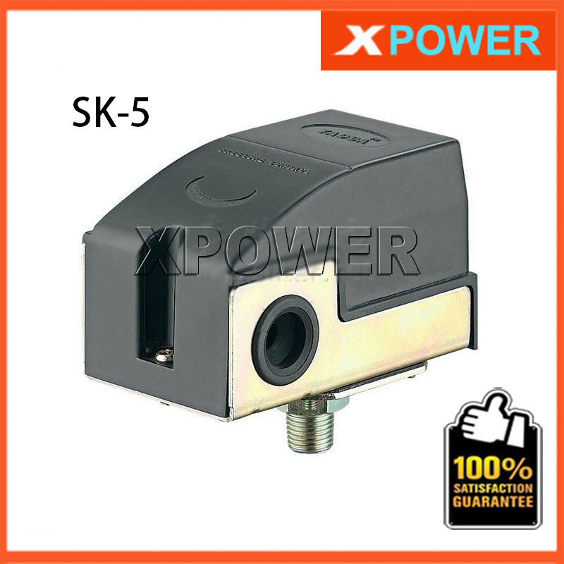 SK-5 1/4 Spray Pump Pressure Switch Automatic Switch Booster Pump Controller For Jet pump Self-priming Pump 0 75kw self priming water pump for high rise wells in the river lake 220v household jet garden pump 4 5m3 h big capacity