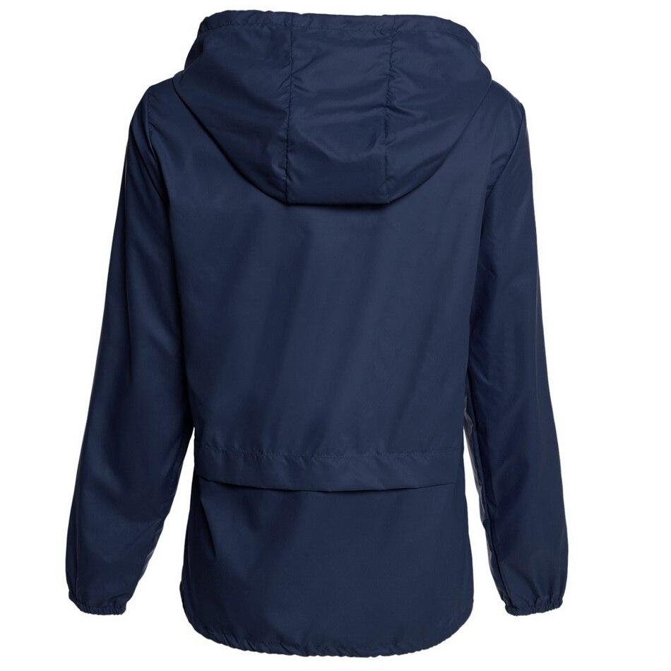 Meaneor autumn coat Women Hooded Jacket 2017 winter thin long sleeve Waterproof casual outcoat Outwear Plus size S,M,L,XL,XXL 2