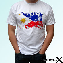 7a422a268b Philippines flag - white t shirt top design - mens womens kids & baby sizes  Cool