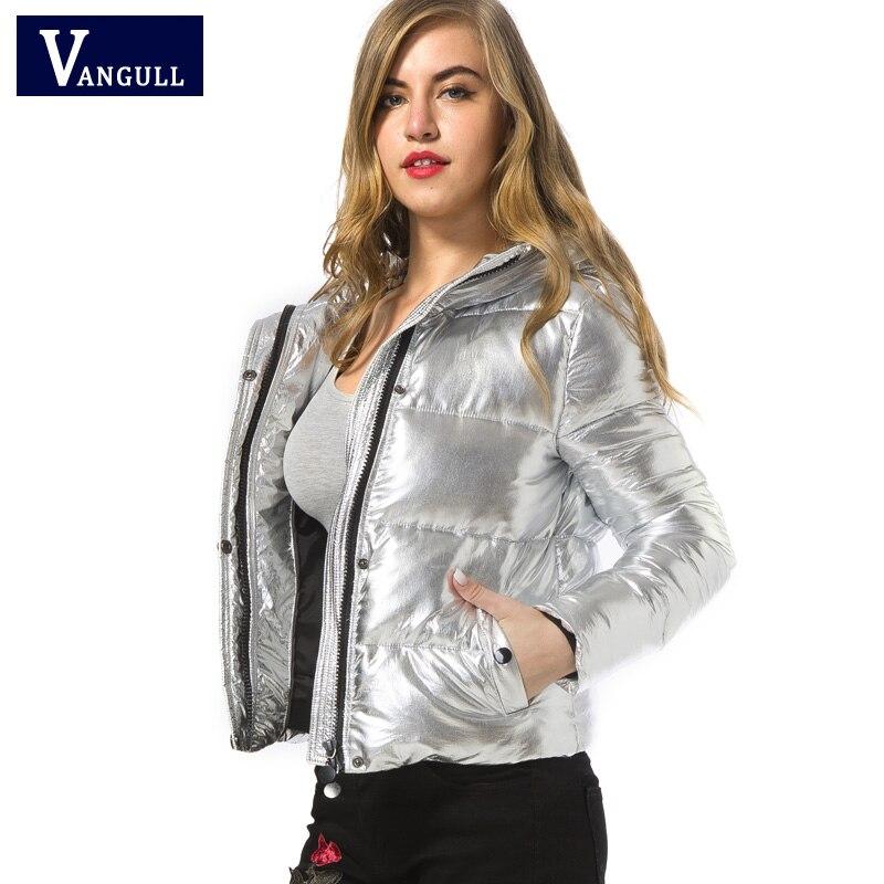 Aliexpress.com : Buy Women winter jackets Short warm coat Silver ...