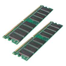 2x1GB PC3200 non-ECC DDR 400MHz High Density MEMORY 184-pin DIMM RAM