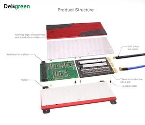 Image 3 - Deligreen 14S 80A 100A 120A 150A 200A 250A 48V PCM/PCB/BMS für 3,7 V LiNCM batterie pack 18650 Lithion Ionen Batterie mit balance