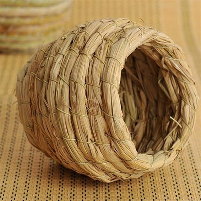 Handmade Straw Bird Nest  4