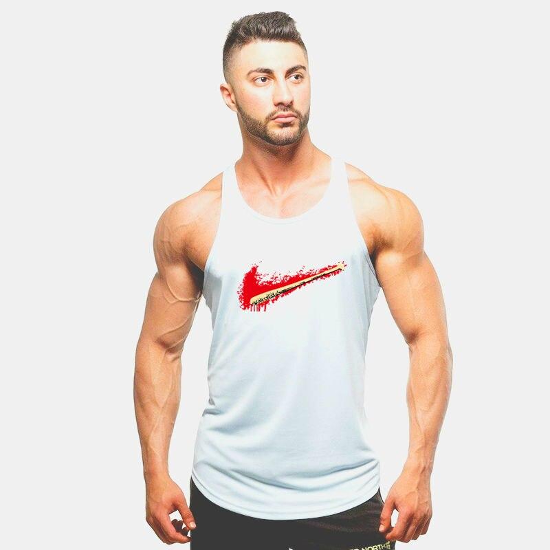 New Arrivals Bodybuilding tank top Superman Gyms sleeveless men Fitness Vest Singlet sportswear workout tanktop in Tank Tops from Men 39 s Clothing