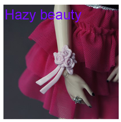 Hazy beauty Doll accessories Fashion Bags Sunglasses Hats Necklace Bracelet for Barbie 1:6 dolls BBI00332 hazy beauty festival gifts sock stockings casual clothes trousers for barbie 1 6 doll bbi00167