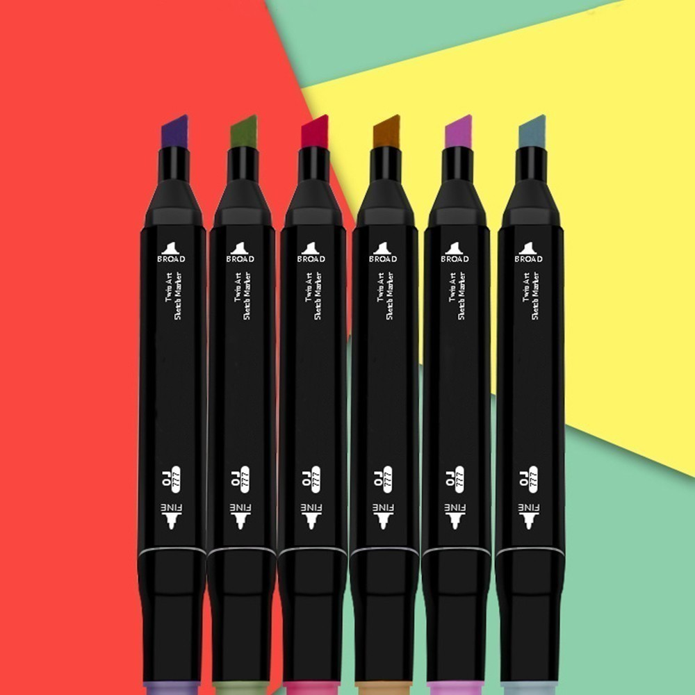 lsh three generations of pen set double head alcohol oily 60 and 80 color marker not LSH Three generations of pen set double head alcohol oily 60 and 80 color marker NEW