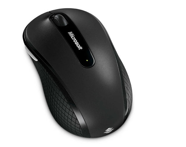 Microsoft 4000 2.4GHZ Wireless Mouse Blue Track For Laptop MAC