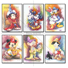 Diamond Embroidery 5D DIY Painting Cartoon mickey and Minnie Cross Stitch Rhinestone Decoration