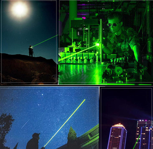 5mW Green Laser Sight High Power Hunting Green Dot Tactical 303 Laser Pointer