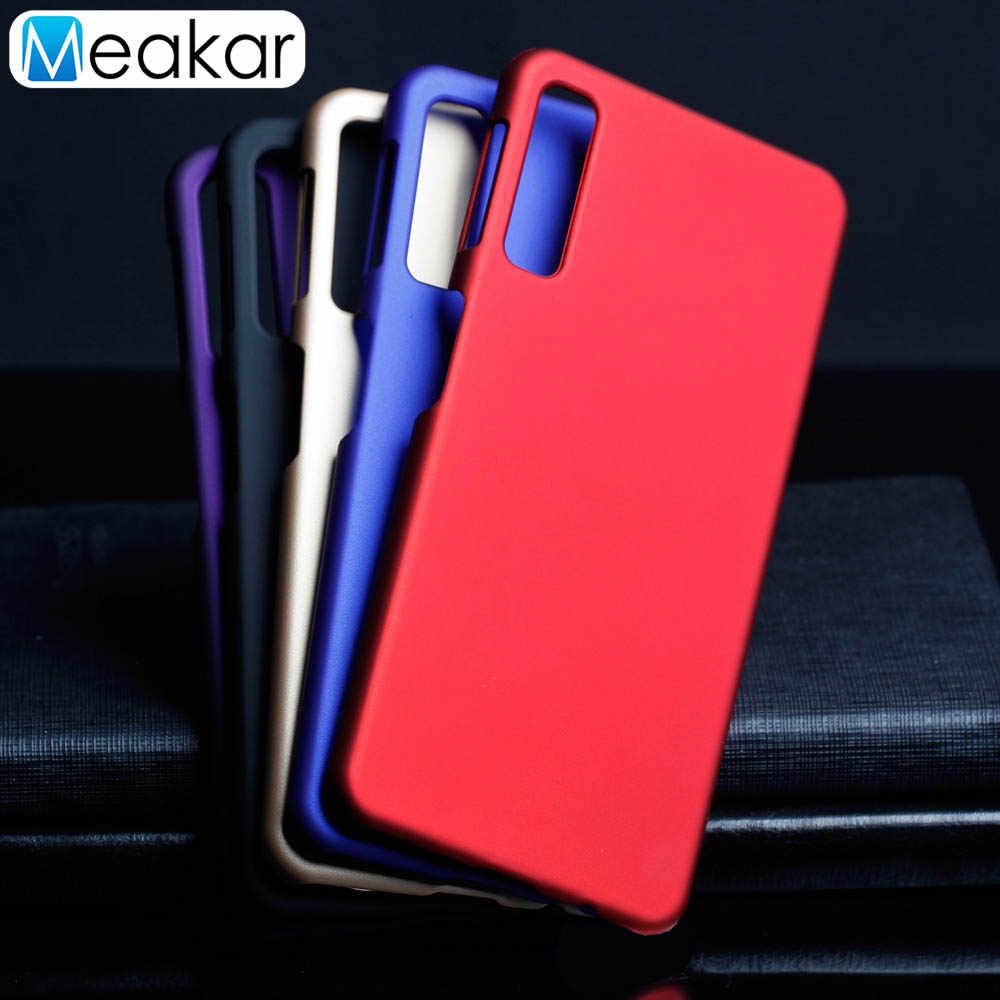 Coque Cover 5.7For Samsung Galaxy A7 2018 Case untuk Samsung Galaxy A7 2018 SM A750 A750F SM-A750 SM-A750F Kembali Tritone cover Case