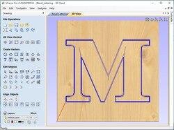 CNC engraving program Vectric Vcarve Pro 6.091