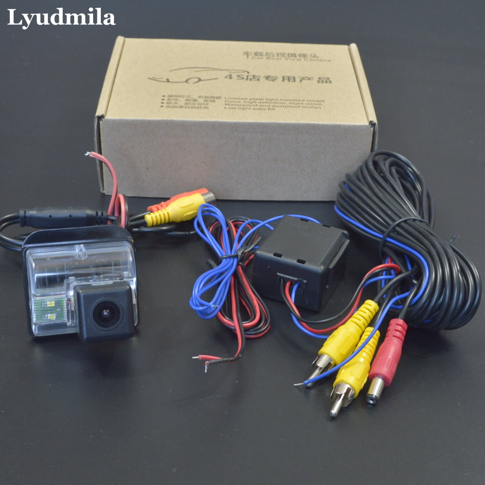 LYUDMILA Power Relay Filter Reverse Camera For <font><b>Mazda</b></font> <font><b>6</b></font> Mazda6 <font><b>MPS</b></font> Atenza GG GY 2002~2008 Rear View Camera HD CCD Night Vision image