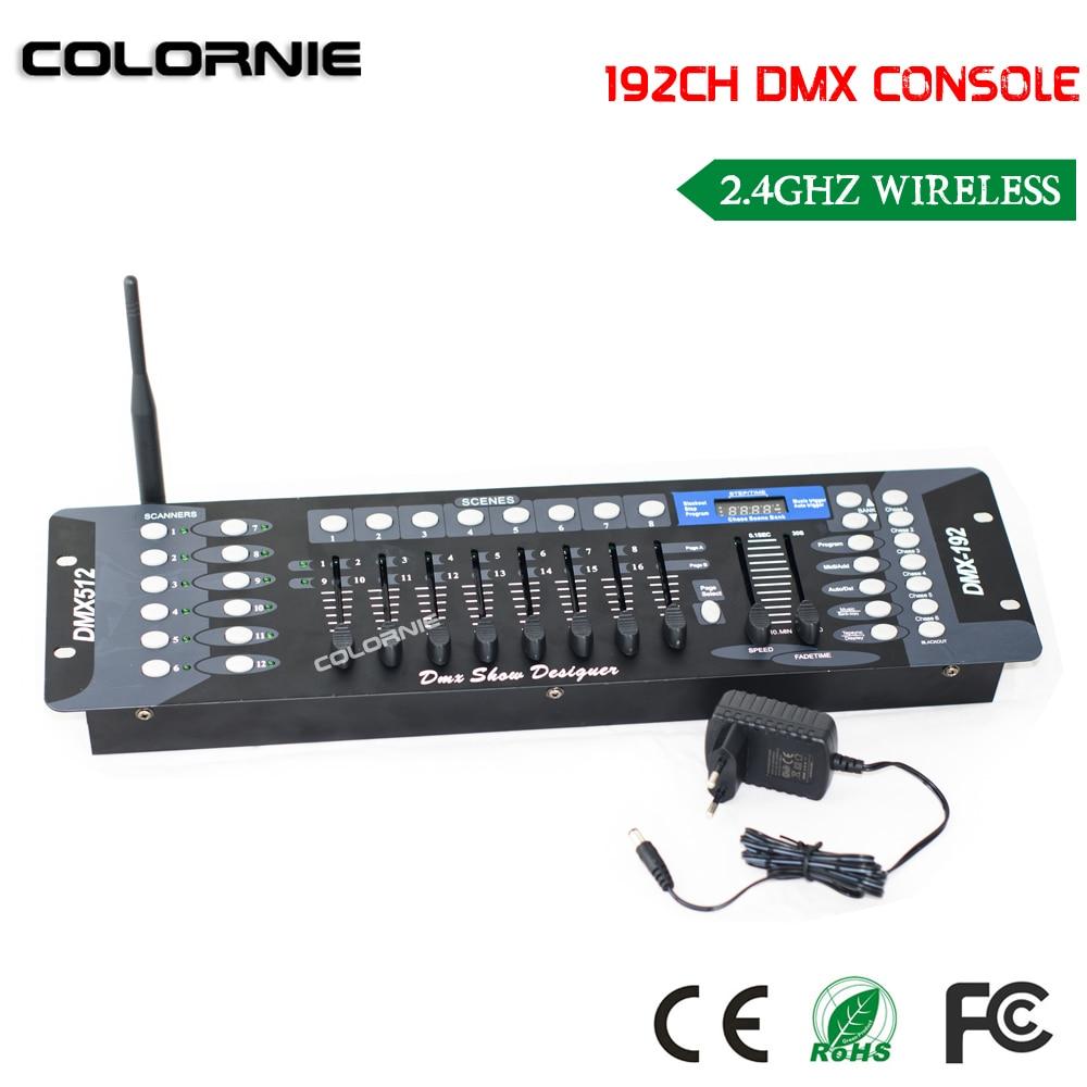 2019 ΝΕΟ 192 κανάλι ασύρματο DMX Controller Stage - Εμπορικός φωτισμός - Φωτογραφία 4