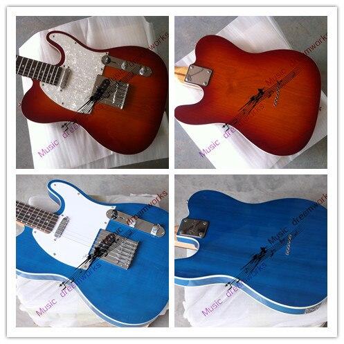Китай firehawk гитара Горячая продажа высокого качества красивая F d TL Электрогитара разные цвета на выбор, на заказ