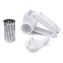 1Pc Useful Stainless Steel Cheese Rotary Graters Drum Blades, Cheese Knife Butter Cutter for Chocolate Slicer Vegetable Grater