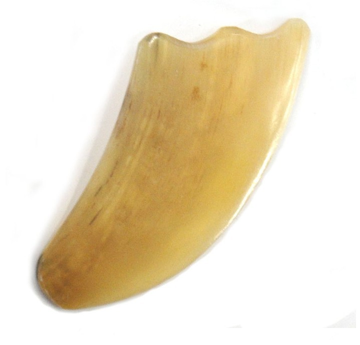 Free Shipping Gua Sha Massage Board - BUFFALO HORN-3 high quality guasha tool