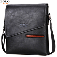 VICUNA POLO NEW Style Fashion Leather Business Bag For Men Crossbody Shoulder Bag With Front Pocket