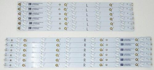 New  For YX-50026001 YX-50026011 LB50039  Strips LC-50LB370U 50LB371U 50LB261U 1Set=12pcs
