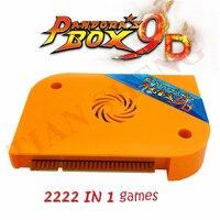 Free shipping 2019 Pandora Box 9D Arcade version JAMMA Multi Games Board 2222 in 1 support HDMI VGA for Arcade Machine Cabinet