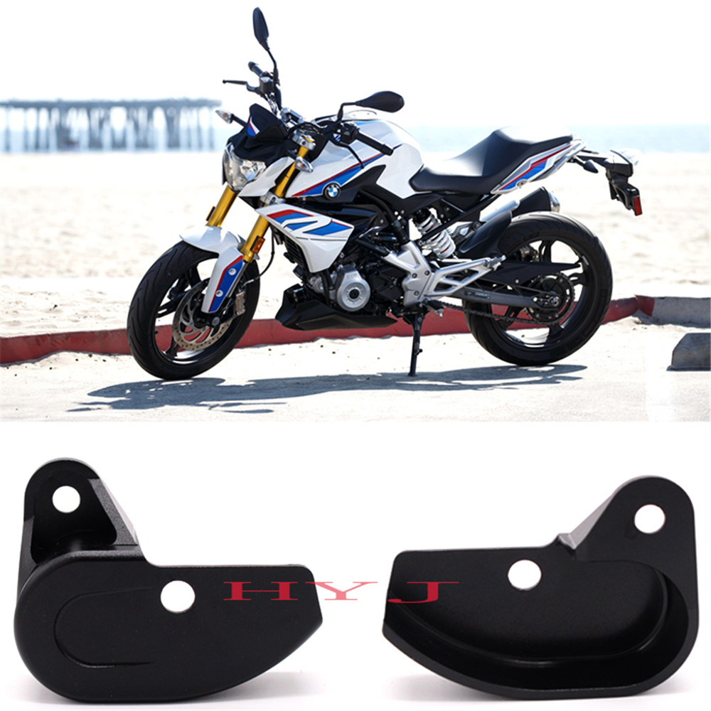 Side bracket electronic switch protection cover fits BMW G310GS 2017-ON black