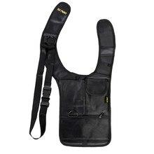 Sac de sécurité Anti vol, sac de voyage, sac sous les aisselles épaules aisselles, étui à pistolet tactique avec pochettes multifonctions, Pack antivol