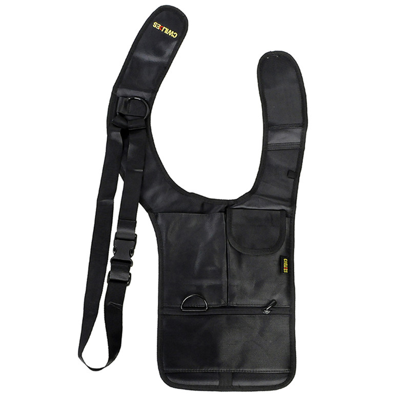 Travel Anti-Theft Safety Bag Underarm Shoulder Armpit Bag Tactical Pistol Holster with Multifunction Pouches Theftproof Pack