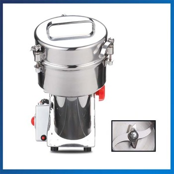 Good Quality Mill Gristmill Home Flour Powder Crusher 1000G Electric Medicine Flour Powder Crusher