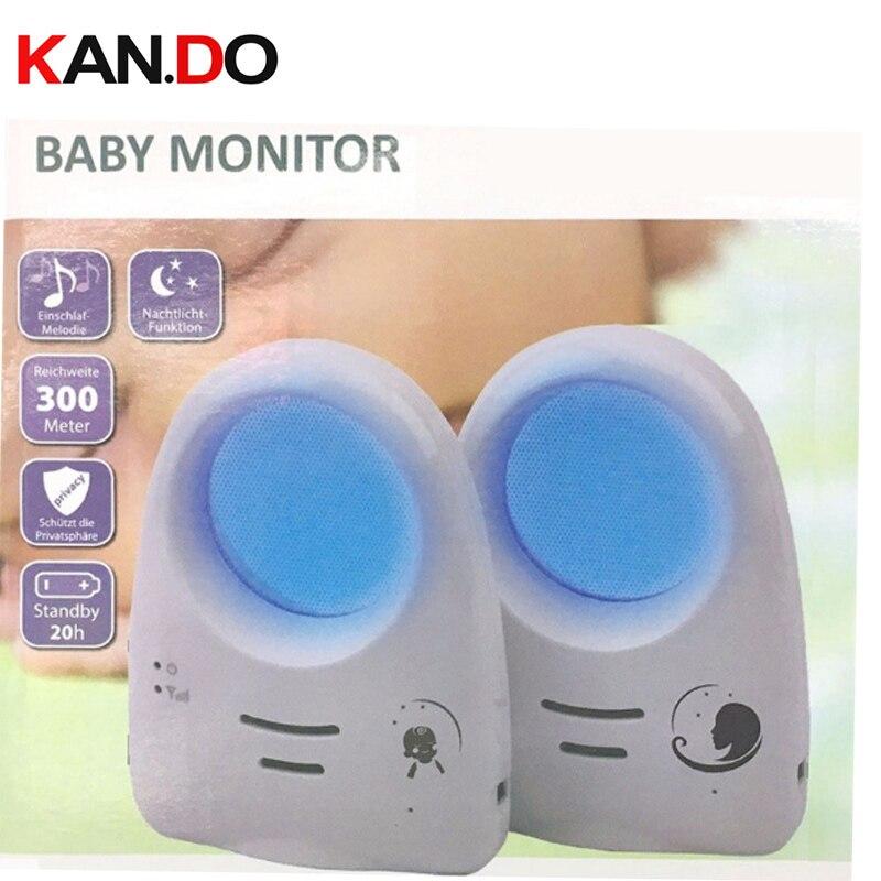 2.4G numérique sans fil Audio son bébé moniteur soutien commande vocale bébé cri détecteur Intercomunicador cri détecteur