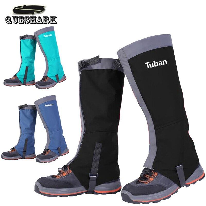 2017 Waterproof Skiing Boots Gaiters Men Women Kids Cycling Shoe Cover Outdoor Hiking Trekking Climbing Snow Leg Warmer Gaiters