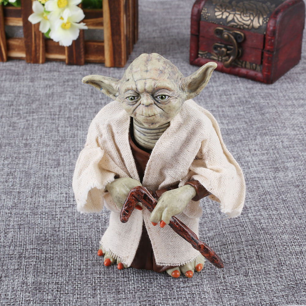 Star Wars 7 The Force Awakens Jedi Knight Master Yoda Figure Toy Christmas Gift