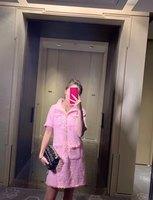 BH03962 высокое качество, новые модные женские туфли 2019 весеннее платье Элитный бренд Европейский дизайн вечерние стильное платье