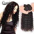 Onda Profunda peruano Virgem Do Cabelo 4 Ofertas Bundle Curly Weave Do Cabelo Humano Bundles Não Transformados Peruano Virgem Cabelo Profunda Curly Weave