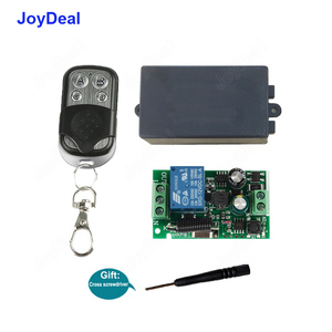 433Mhz Universal Wireless Remote Control Switch AC 110V 220V 1 Channel Relay Receiver Module and RF 433 Mhz Transmitter Diy Kits