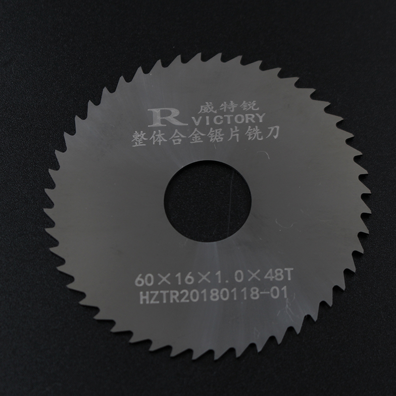 3pcs Round Saw Blade 60mm Thick 0.5mm To 2mm Solide Carbide Circular Milling Saw Blades CNC Lathe Metal Cutting Tool