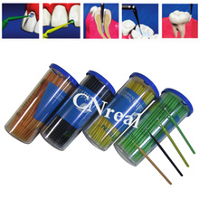 купить 4 Barrels Dental Disposable Micro Applicator with Bendable Tip Teeth Whitening Dentist Lab Instruments недорого