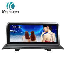 Koason 10.25 inch IPS Android 7.1 Audio Video Vehicle gps navigation for BMW X3 E83 2004-2009 With Idrive Car Multimedia Player