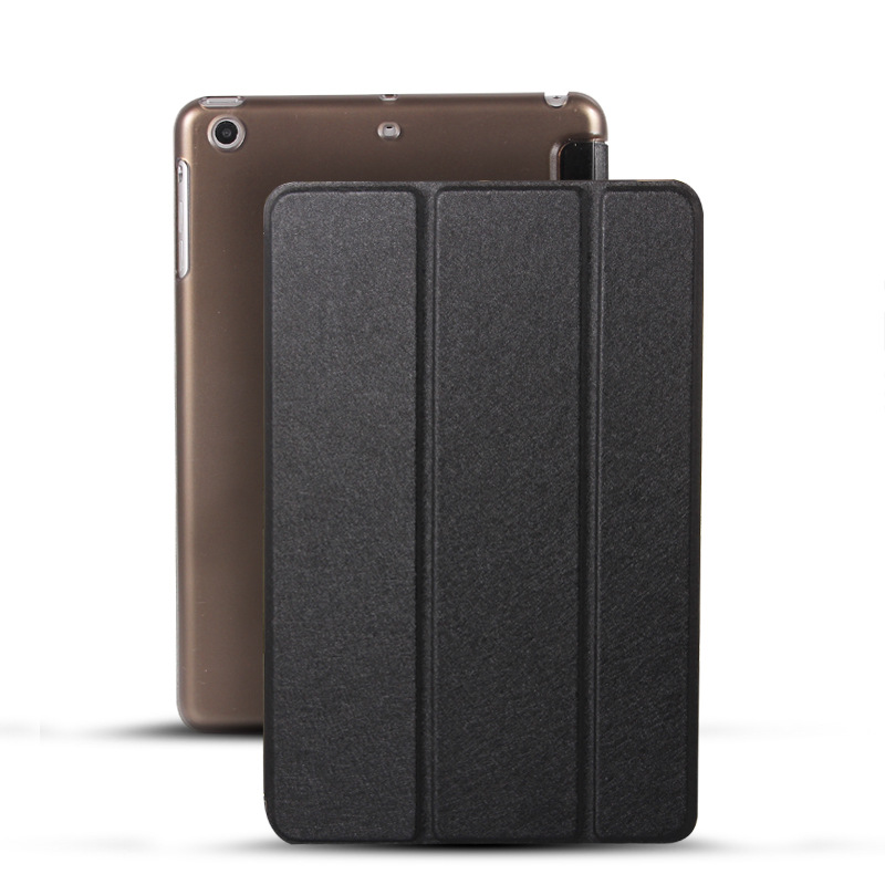 Protective Cover Silk Pattern Thin Leather Case For Pad 2 3 4 5 6 Pro9.7 Pro10.5 Pro12.9 mini1 mini2 mini3 mini4