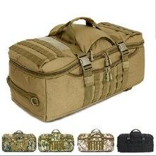 Sacos de 60 l mochila militar 3 P à prova d' água saco de Escola de moda mochila lazer laptop notebook mochila saco de embreagem Dos Homens de luxo sacos