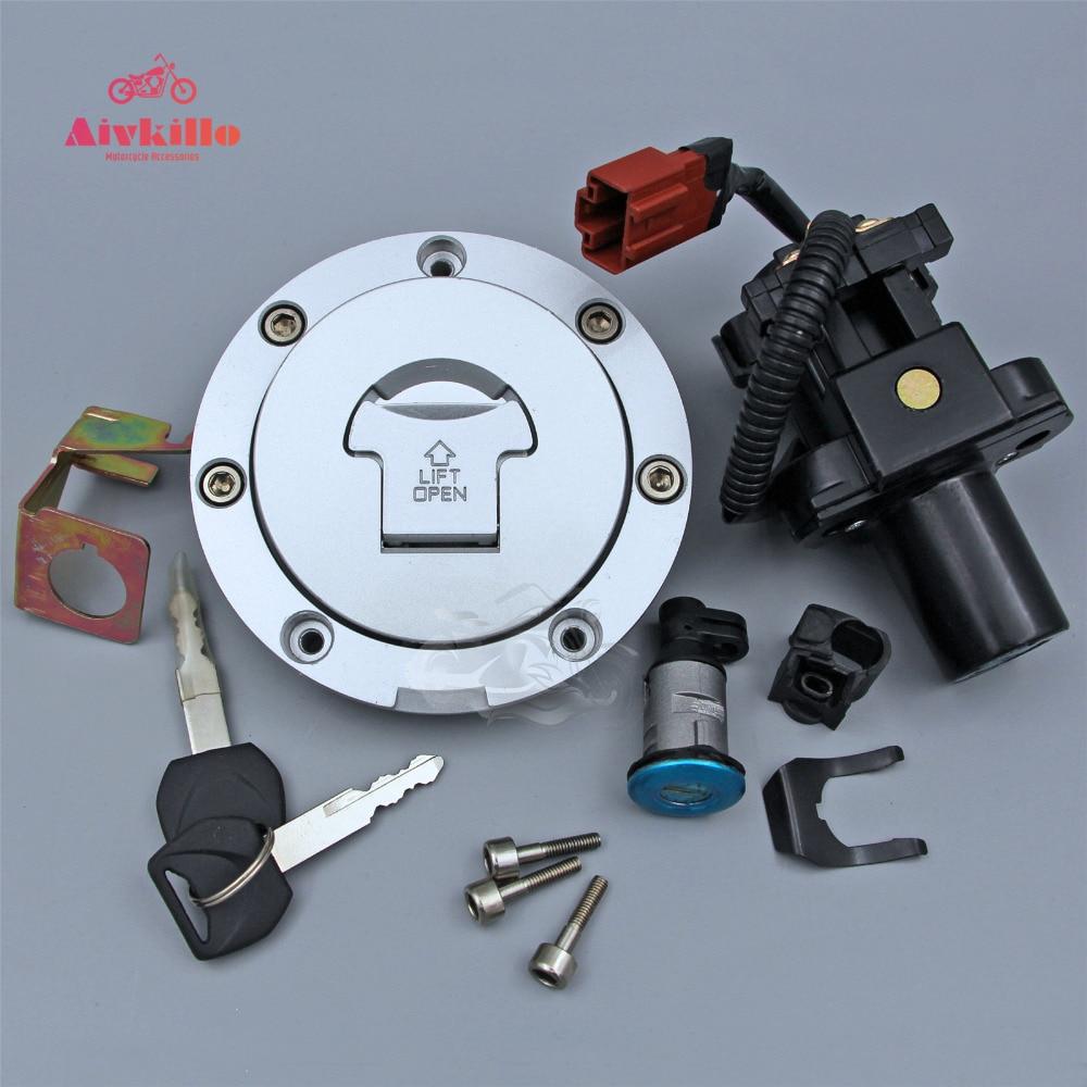 Ignition Switch Lock Fuel Gas Cap Key Set For Honda CBR600RR F5 2007-2016 & CBR1000RR 08-16 09 11 12 13 14 15