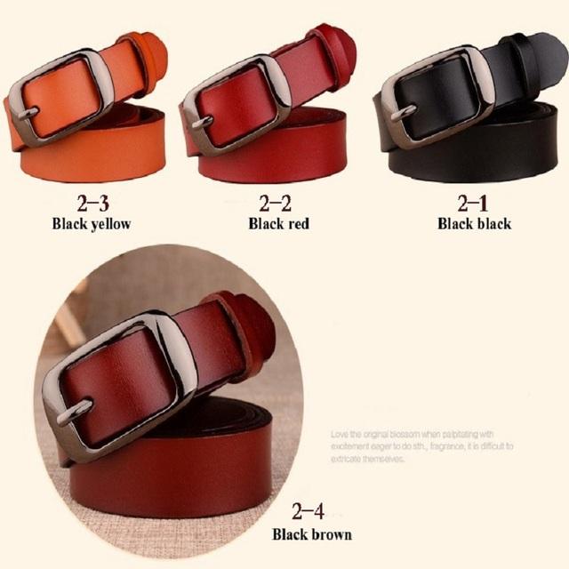 Cinturón femenino de moda
