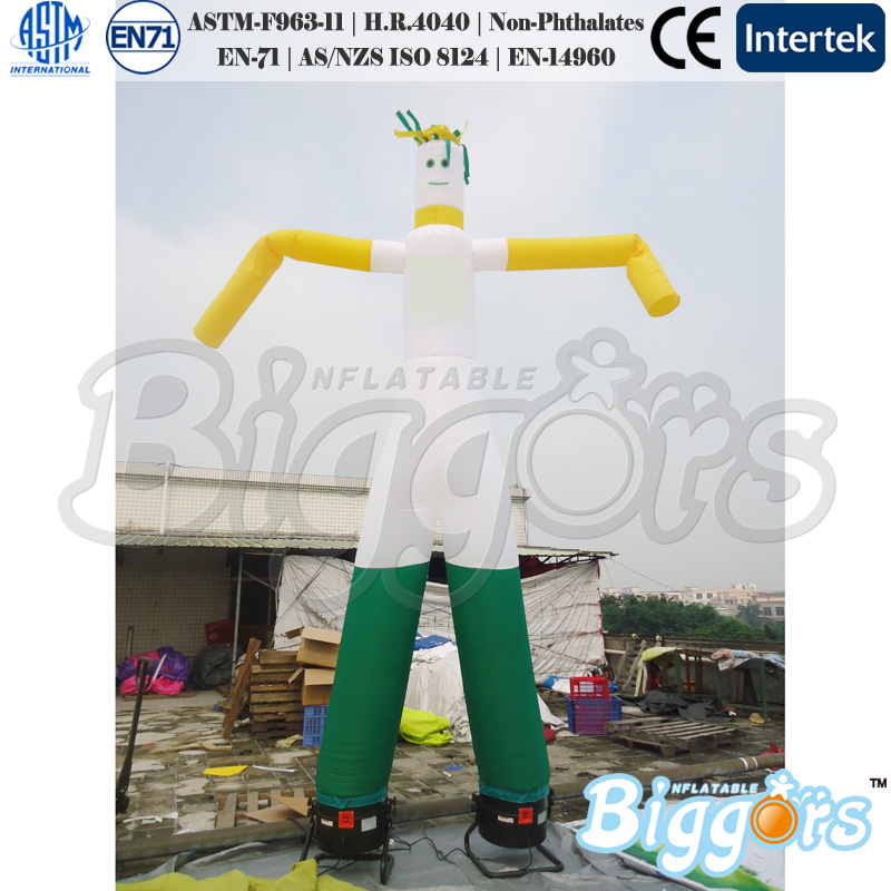 8m Height Inflatable Air Sky Dancer With Two Legs From Chinese Factory hot 7 m height smile face free shipping inflatable air dancer sky dancer for event