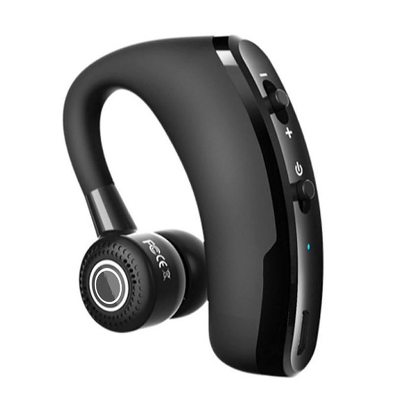 Bluetooth Headphones V9 Business CSR Bluetooth Headset Wireless Black Stereo Earphone Hands-free Noise Reduction Headphone k10 business bluetooth earphone voice command auto answer wireless business bluetooth headset headphones storage box